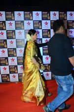 Rekha at Star Screen Awards Red Carpet on 8th Jan 2016