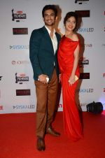 Sushant Singh Rajput, Ankita Lokhande at Filmfare Nominations red carpet on 9th Jan 2016 (32)_569399be64412.JPG