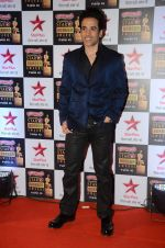 Tusshar Kapoor at Star Screen Awards Red Carpet on 8th Jan 2016