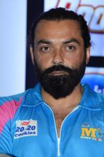 Bobby Deol at CCL 6 launch in Mumbai on 11th Jan 2016