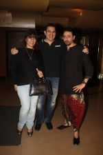 Archana Puran Singh, Parmeet Sethi, Mantra at the Special Screening of Rebellious Flower on 13th Jan 2016