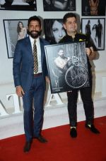 Farhan Akhtar at Dabboo Ratnani calendar launch in Mumbai on 12th Jan 2016