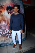 Harshvardhan Rane at Sanam Tei Kasam promotions on 12th Jan 2016