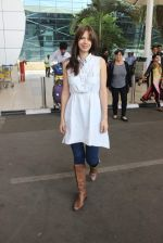 Kalki Koechlin snapped at airport on 12th Jan 2016