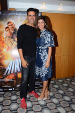 Nimrat Kaur and Akshay Kumar promote Airlift on 12th Jan 2016
