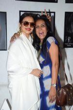 Rekha, Suchitra Pillai at Dabboo Ratnani calendar launch in Mumbai on 12th Jan 2016 (208)_569645f912f56.JPG