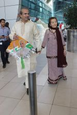 Suresh Wadkar snapped at airport on 12th Jan 2016