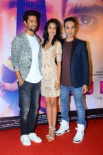 Sarah Jane,Vicky Kaushal, Mozez Singh at Zubaan film launch on 13th Jan 2016