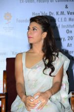 Jacqueline Fernandez at International Commerce and Management conference on 14th Jan 2016