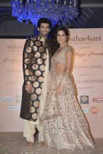 Katrina Kaif, Aditya Roy Kapur walks for Manish Malhotra show for Sahachari Foundation on 14th Jan 2016 (110)_5698f2e9a5985.JPG