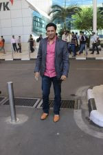 Madhur Bhandarkar snapped at airport on 14th Jan 2016