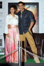 Nimrat Kaur, Akshay Kumar promote Airlift in Kolkata on 14th Jan 2016