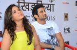 Richa Chadda, Sushant Singh Rajput attend Khidkiyan Theatre Festival on 14th Jan 2016