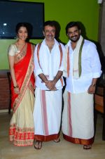 Ritika Singh, Madhavan, Rajkumar Hirani with Saala Khadoos team celebrate Pongal on 14th Jan 2016