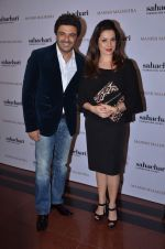 Sameer Soni, neelam Kothari at Manish Malhotra show for Sahachari Foundation on 14th Jan 2016 (251)_5698f3f9b9510.JPG