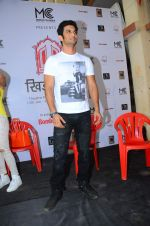 Sushant Singh Rajput attend Khidkiyan Theatre Festival on 14th Jan 2016
