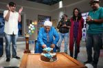 Javed Akthar Celebrated 71st birthday on the sets of Zee Classic_s Golden Years_569b71d4f40ef.JPG