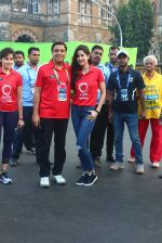 Katrina Kaif, Ronnie Screwvala at Mumbai marathon on 17th Jan 2016 (122)_569b822cbed2a.JPG