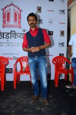 Nawazuddin Siddiqui at Khidkiyan festival on 16th Jan 2016
