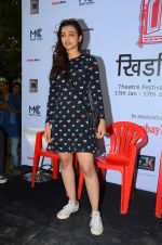 Radhika Apte at Khidkiyan festival on 16th Jan 2016
