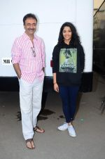 Ritika Singh, Rajkumar Hirani at Saala Khadoos photo shoot on 15th Jan 2016 (23)_569b60e3ea4bf.JPG