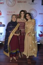 Shweta Nanda, Jaya Bachchan at Vikram Phadnis 25 years show on 16th Jan 2016 (521)_569b7ededfb9f.JPG