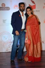 Sunil Shetty, Mana Shetty at Vikram Phadnis 25 years show on 16th Jan 2016 (144)_569b832bd1574.JPG