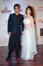 Sushant Singh Rajput, Ankita Lokhande at Vikram Phadnis 25 years show on 16th Jan 2016 (339)_569b82650a135.JPG