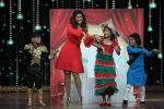 Nimrat Kaur on the sets of Zee TV India
