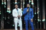 Ravi Dubey, Ritvik on the sets of Zee TV India