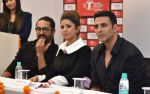 Akshay Kumar, Tulsi Kumar promote Airlift at T Series Stage Academy in Noida on 18th Jan 2016