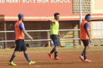 Arjun Kapoor snapped in action at soccer match on 18th Jan 2016