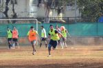 Armaan Jain snapped in action at soccer match on 18th Jan 2016