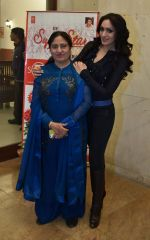 khushali with her mother at T Series Stage Academy in Noida on 18th Jan 2016