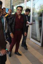 Govinda snapped at Airport on 19th Jan 2016