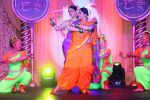 Indira Krishnan as Kumudini and Chhavi Mittal as Tulsi perform at COLORS_ Krishndasi launch
