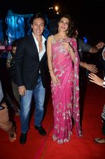 Jacqueline Fernandez, Tiger Shroff at Umang police show on 19th Jan 2016