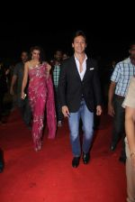 Jacqueline Fernandz, Tiger Shroff at Umang police show on 19th Jan 2016