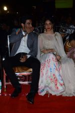 Kiara Advani, Sushant Singh Rajput at Umang police show on 19th Jan 2016