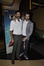 Manish Paul, Sikander Kher at the trailor launch of Tere Bin Laden Dead or Alive on 19th Jan 2016
