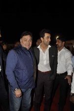 Rishi Kapoor, Ranbir Kapoor at Umang police show on 19th Jan 2016