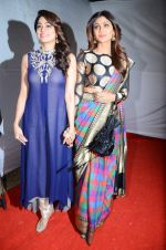 Shilpa Shetty, Shamita Shetty at Umang police show on 19th Jan 2016