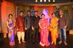 Shweta Mahadik, Uday Tikekar, Jiten Lalwani, Producer Vipul Shah, Creative Producer Kutty Padmini, Indira Krishnan  at COLORS_ Krishndasi launch