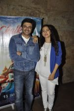 Juhi Chawla, Sameer Soni at Chalk N Duster screening on 20th Jan 2016
