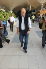 Anupam Kher snapped at the airport on 21st Jan 2016