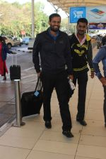 Yusuf Pathan snapped at the airport on 21st Jan 2016