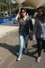Zarine Khan snapped at the airport on 21st Jan 2016