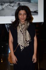 Zoya Akhtar at an Art Event in Mumbai on 21st Jan 2016