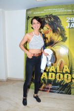 Kangana Ranaut at Saala Khadoos screening on 22nd Jan 2016