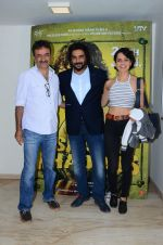 Kangana Ranaut, Madhavan, Rajkumar Hirani at Saala Khadoos screening on 22nd Jan 2016